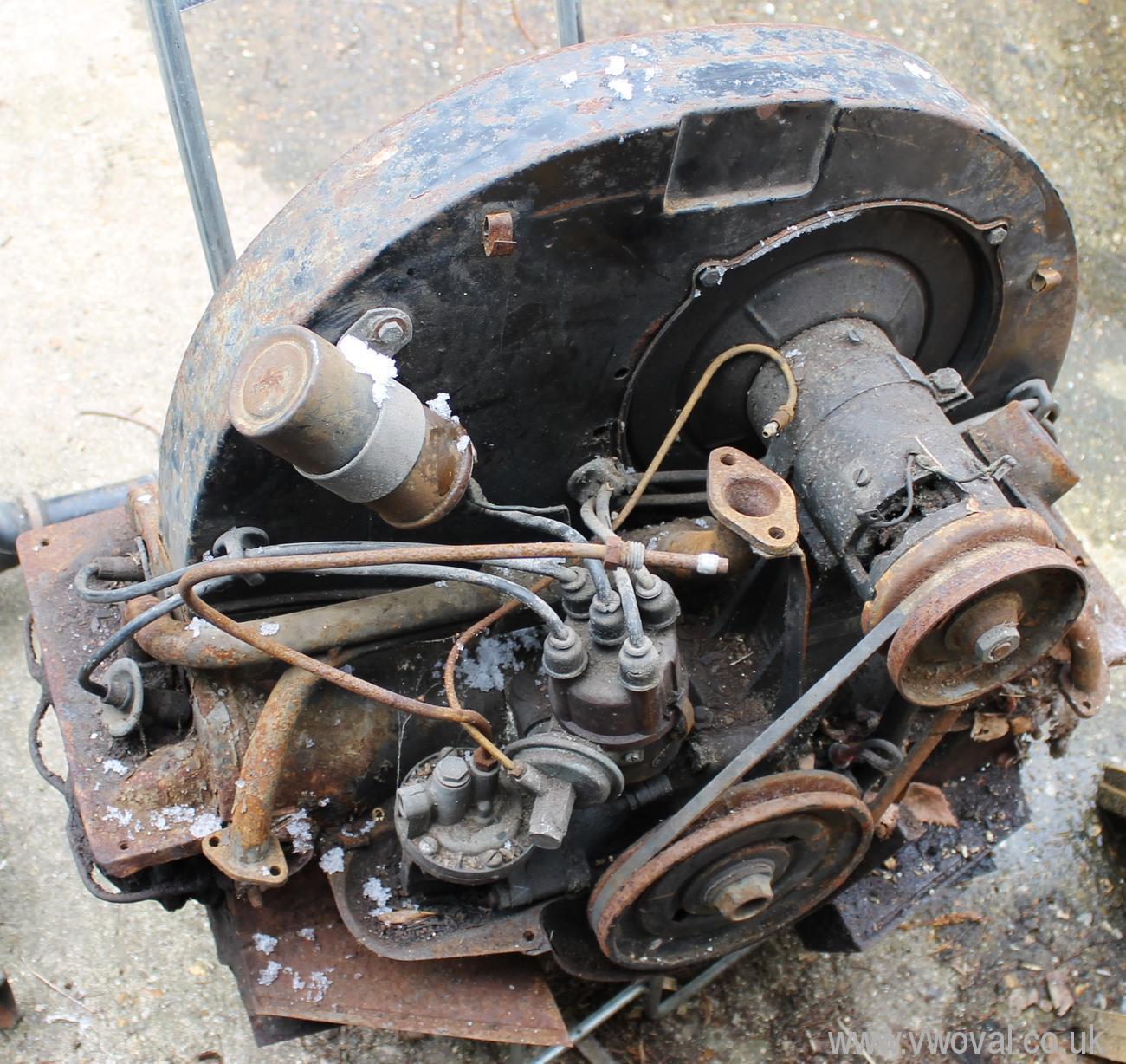 Vw Bug Engine Case Sealant: Www.vwoval.co.uk Volkswagen Oval Beetle Rebuild