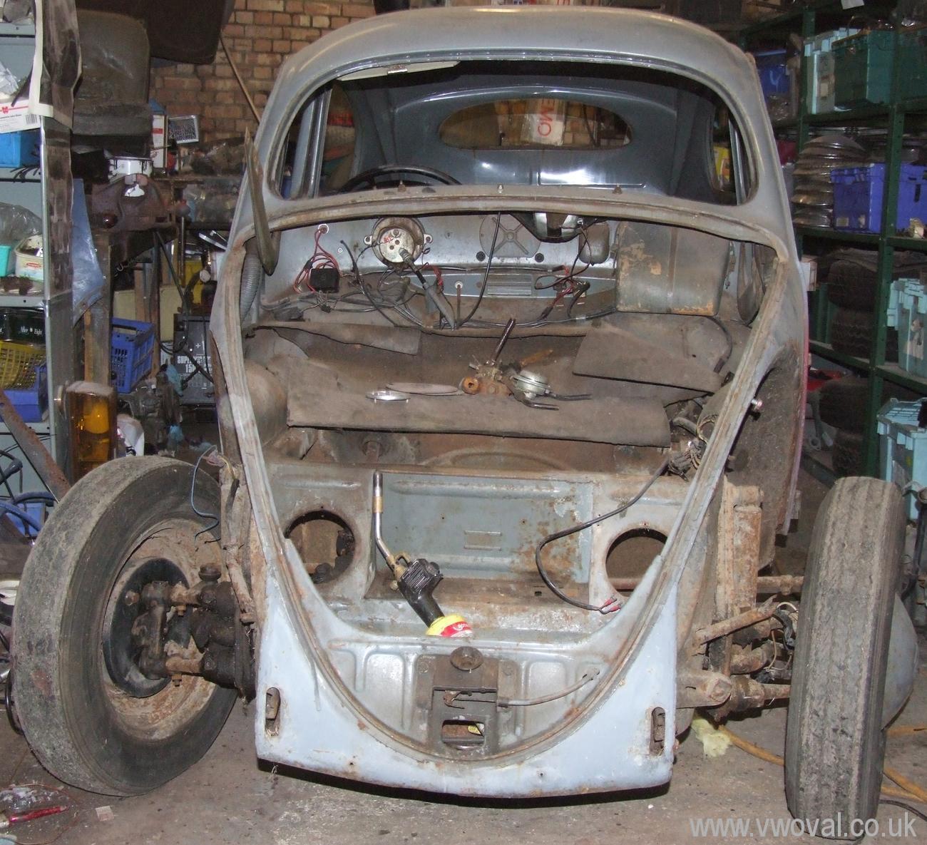 Vw Beetle Body Parts Uk: 1953 Standard Model Oval VW Beetle